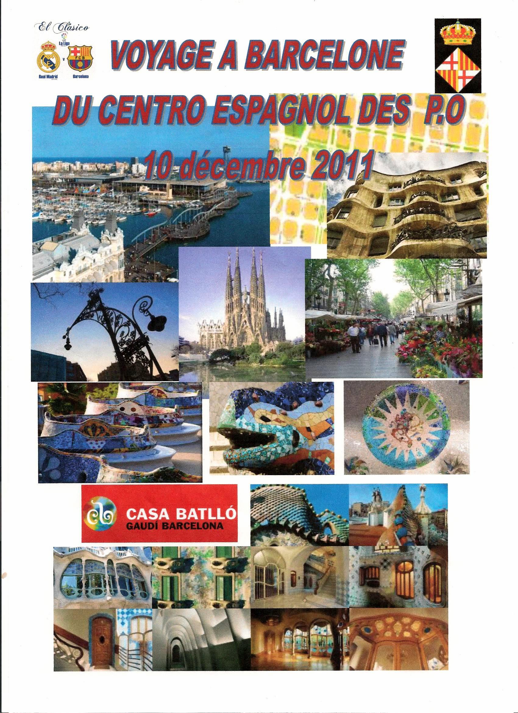 Voyage Barcelone 001