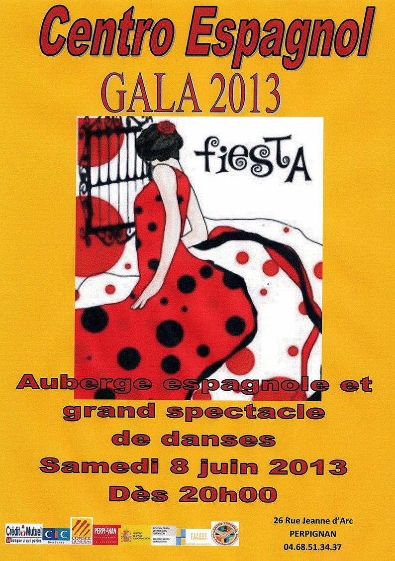 affiche gala 2013
