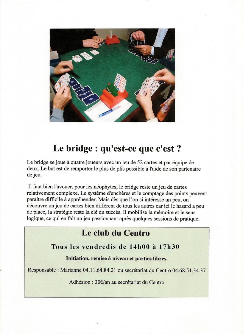Affiche Bridge 001