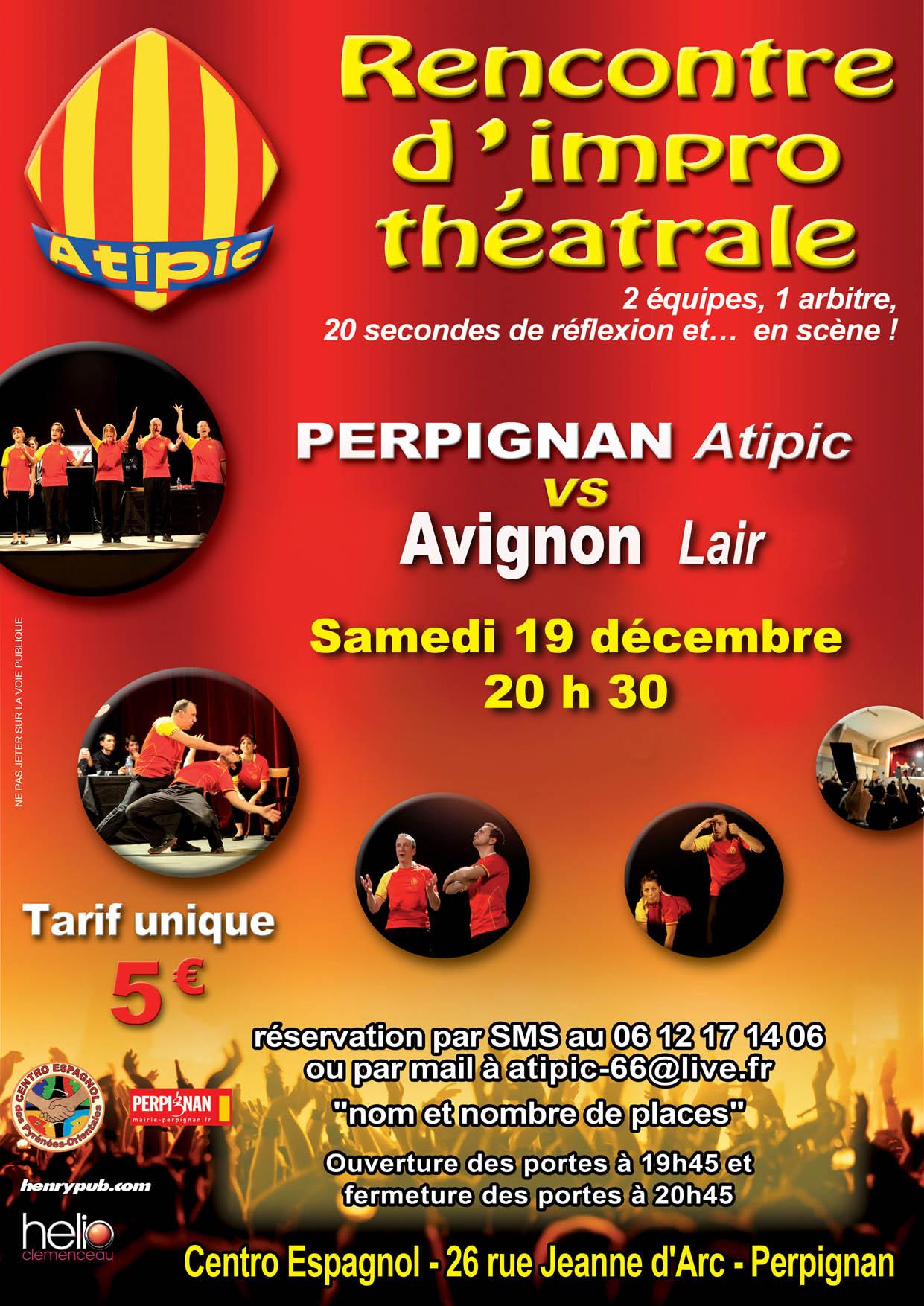 Affiche A4 Avignon Lair B