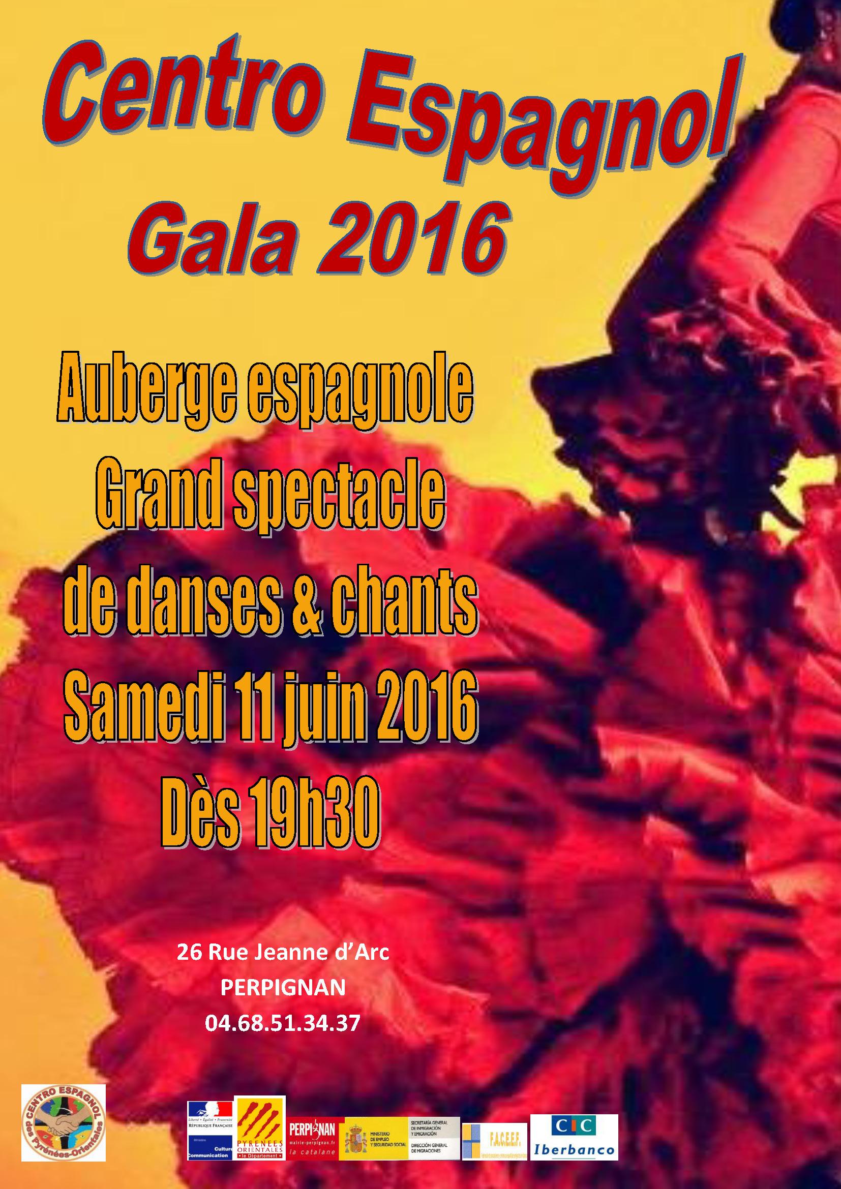 Affiche Gala 2016