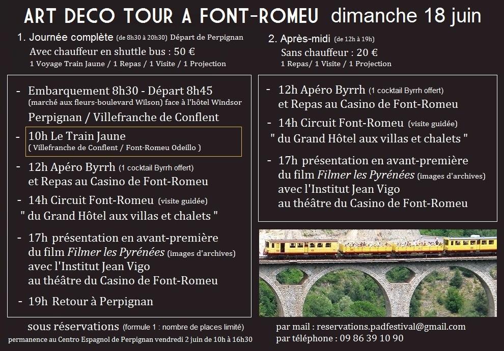FONT ROMEU 2017 Reservations