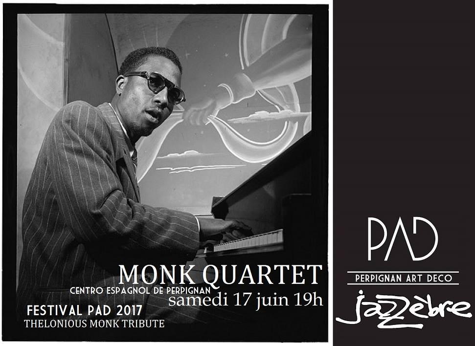 Monk quartet PAD Centro